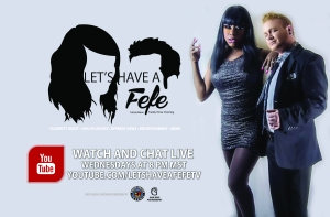 "Watch Felicia ""Fefe"" Minor and Freddy Prinze Charming on Let's Have A Fefe!"