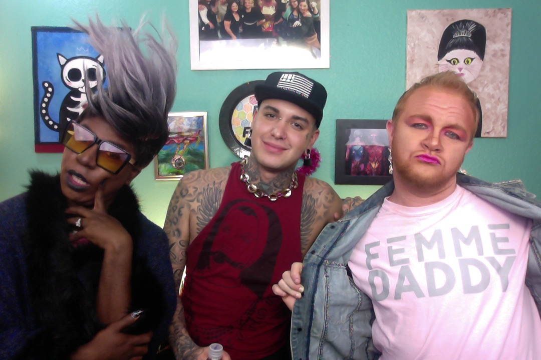 Phoenix's Felicia Minor, Dahli, Freddy Prinze Charming on Let's Have A Fefe