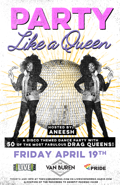 Party Like a Queen - Disco Dance Party